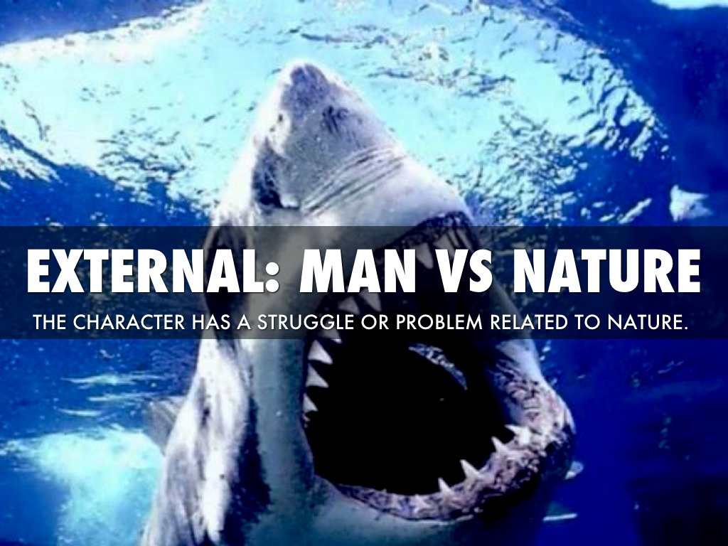 Man Vs Nature Literary Conflict